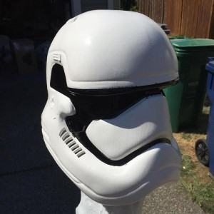 Wearable Storm Trooper Helmet