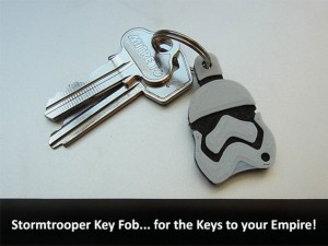 Star Wars Storm Trooper Key Fob
