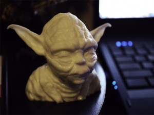 Yoda Bust Star Wars 3d Print model