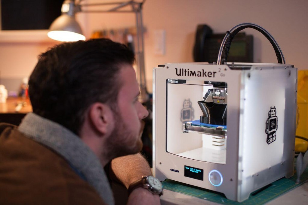 Ultimaker 2 Go is super portable and for consumers, beginners and aspiring makers