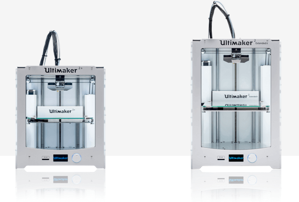 Ultimaker 2 Plus has a taller build height
