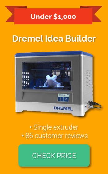 best 3d printers of 2016 based on user feedback quality price features. Black Bedroom Furniture Sets. Home Design Ideas
